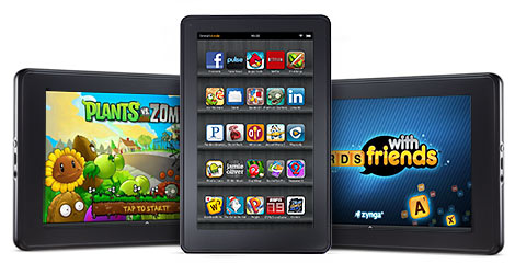 Amazon Kindle Fire 7-inch  Multi-touch, Wi-Fi ,Dual Core Android Tablet